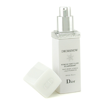 Maquiagens, Christian Dior, Christian Dior Diorsnow White Reveal UV Shield Liquid Foundation SPF30 - # 012 Porcelain 30ml/1oz