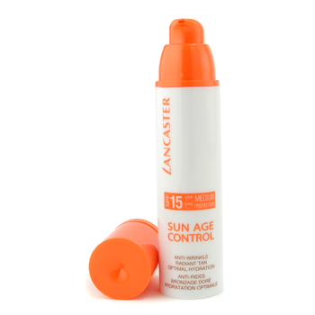 Lancaster Sun Age Control Anti-Wrinkle Radiant Tan Optimal Hydration SPF 15 Medium Protection - Hidr