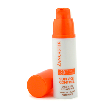 Lancaster Sun Age Control Eyes & Lips Anti-Wrinkle SPF 30 High Protection - Protección Antiarrugas L