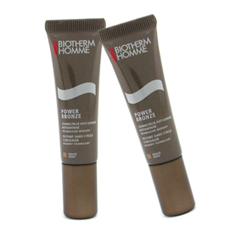 Biotherm Homme Power Bronze Instant Dark Circle Concealer Duo Pack - Dark