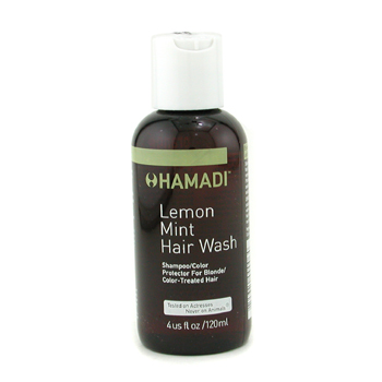 Hamadi Lemon Mint Hair Wash Champú/Color Protector ( Cabellos Rubios/Teñidos )
