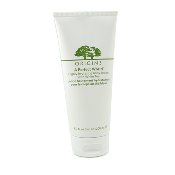Origins A Perfect World Highly Hydrating Loción Corporal con Te Blanco