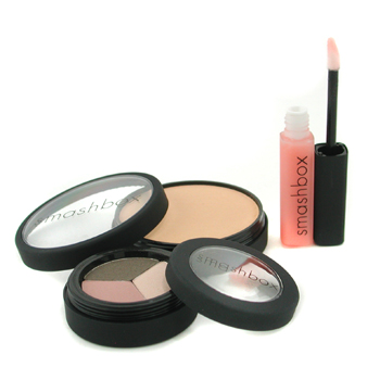 Smashbox Who's Your Agent Spring Color Kit ( Iluminadores Ligeros + Sombra de Ojos Trio + Gloss Labi