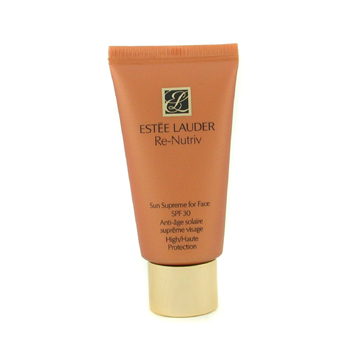 Estee Lauder Re-Nutriv Sun Supreme For Face SPF30 High Protection - Protección Nutriente Rostro
