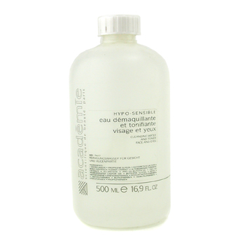 Academie Hypo-Sensible Cleaning Water & Toner For Face & Eyes ( Salon Size ) 500ml/16.9oz
