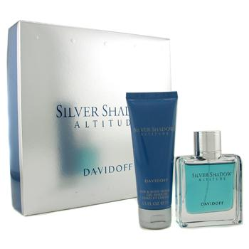 buy Davidoff Silver Shadow Attitude Coffret: Eau De Toilette Spray 50ml/1.7oz + Hair & Body Shampoo75ml/2.5oz 2pcs  skin care shop