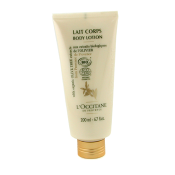 L'Occitane Olive Tree Organic Body Lotion - Loción Corporal