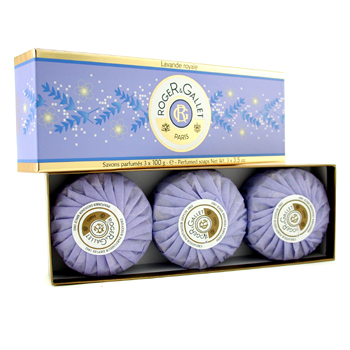 Roger & Gallet Lavende Royale Perfumed Soap Coffret 3x100g/3.5oz