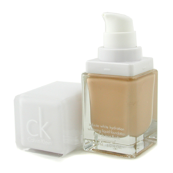 buy Calvin Klein Pure White Treatment Liquid Foundation SPF 20 - # 104 Beige Ocher 29.6ml/1oz  skin care shop