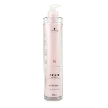 buy Schwarzkopf Seah Blossom Bath Shampoo (For Coloured Hair) 200ml/6.67oz by Schwarzkopf skin care shop