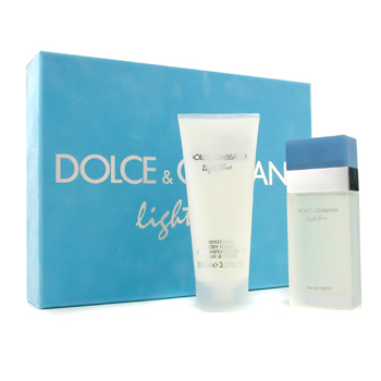 Dolce & Gabbana Estuche Light Blue: Agua de Colonia Vap. 50ml/1.7oz + Crema Corporal Refrescante 100