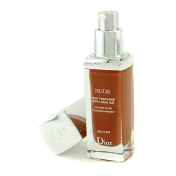 Christian Dior Diorskin Nude Natural Glow Hydrating Maquillaje SPF 10 - # 070 Dark Brown