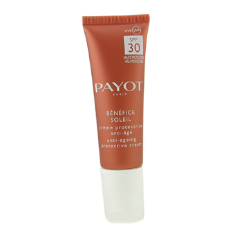 Payot Benefice Soleil Anti-Aging Protective Cream SPF 30 UVA/UVB ( For Face & Sensitive Areas )