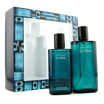 Davidoff Estuche Cool Water : Agua de Colonia Vaporizador 125ml/4.2oz + After Shave 75ml/2.5oz