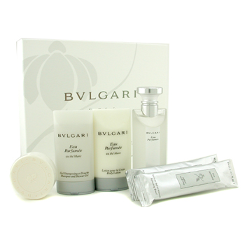 Bvlgari Estuche Au the Blanc: Agua de Colonia 75ml/2.5oz+ Loción Corporal 75ml/2.5oz+ Gel de Ducha 7