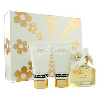 Marc Jacobs Daisy Estuche: Agua de Colonia Vaporizador 50ml/1.7oz + Loción Corporal 75ml/2.5oz + Gel
