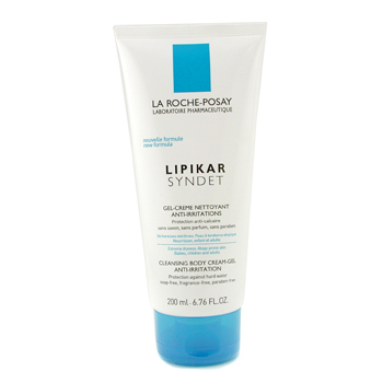 buy La Roche Posay Lipikar Syndet Cleansing Body Cream Gel 200ml/6.76oz skin care shop