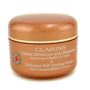 Para a pele da mulher, Clarins, Clarins Mousse Delectable Self Tanning  with Unsaponifiables Of Cocoa 125ml/4.4oz