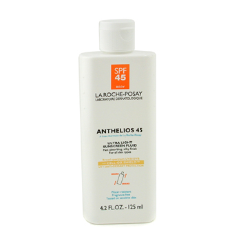 buy La Roche Posay Anthelios 45 Ultra Light Sunscreen Fluid For Body 125ml/4.2oz skin care shop