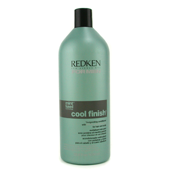 buy Redken Men Cool Finish Invigorating Conditioner (For Hair and Scalp) 1000ml/33.8oz by Redken skin care shop