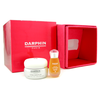buy Darphin Deluxe Set: Dry Oil 15ml/0.5oz + Lifting Cream 50ml/1.7oz 2pcs skin care shop