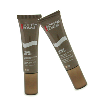 Biotherm Homme Power Bronze Instant Corrector Ojeras Duo Pack - Light