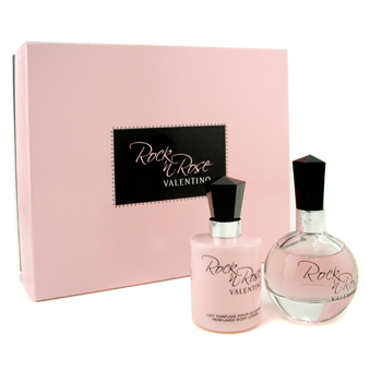 buy Valentino Rock 'n Rose Coffret: Eau De Parfum 50ml/1.6oz + Body Lotion 100ml/3.3oz 2pcs  skin care shop