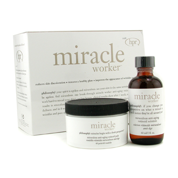 Philosophy Miracle Worker: Solution 60ml/2oz + Pads 60pads