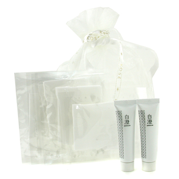 Kose Shirosumi Set: 2x Shirosumi Whitening Essence 15ml/0.5oz + 6x Paper Mask