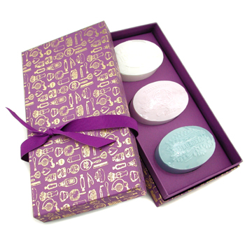 Penhaligon's Ladies Soap Collection: Bluebell+ Elisabethan Rose+ Lily Of The Valley