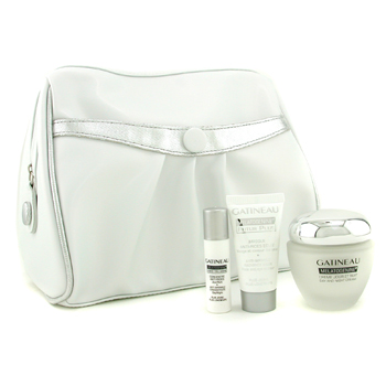 buy Gatineau Melatogenine Coffret: Day & Night Cream + Mask + Concentrate 3pcs+1bag skin care shop