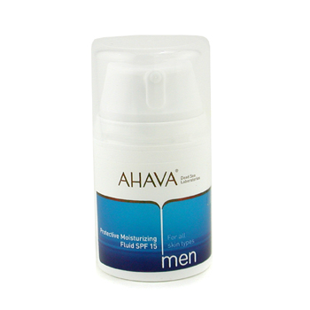 Ahava Men Protective Moisturizing Fluid SPF 15 ( Unboxed ) 50ml/1.7oz