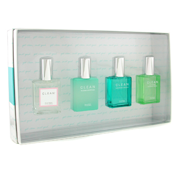 Clean Clean Coffret: Edp Spray + Outdoor Shower Fresh Edp Spray + Shower Fresh Edp Spray + Warm Cott