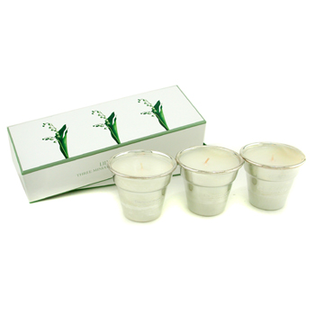 Penhaligon's Lily Of The Valley Three Minature Scented Candles