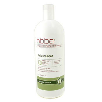 buy ABBA Daily Shampoo (For All Hair Types) 1000ml/33.8oz by ABBA skin care shop