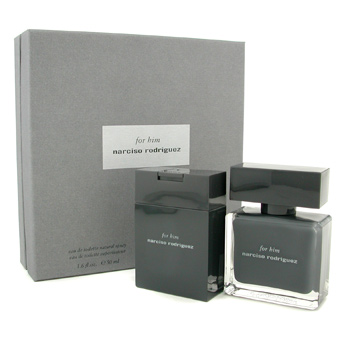buy Narciso Rodriguez For Him Coffret: Eau De Toilette Spray 50ml + Shower Gel 100ml 2pcs  skin care shop