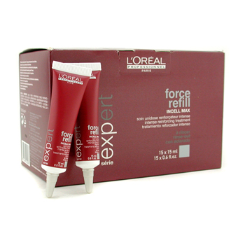 Cuidados com o cabelo, L'Oreal, L'Oreal Professionnel Expert Serie - Force Refill Intense Reinforcing Rinse-Out Treatment 15x15ml/0.6oz