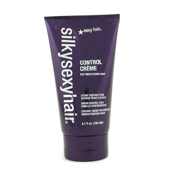 buy Sexy Hair Concepts Silky Sexy Hair Control Creme (For Thick/Coarse Hair) 150ml/5.1oz by Sexy Hair Concepts skin care shop