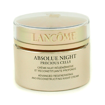 Lancome Absolue Night Precious Cells Advanced Regenerating And  Reconstructing Night Cream ( Made in USA ) 50g/1.7oz
