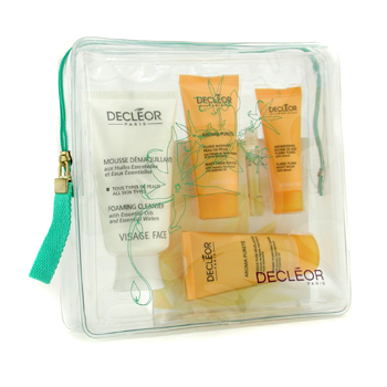 Decleor Purifying Programme: Cleanser + Aromessence Ylang Ylang + Skin Fluid + Mask + Night Blam 5pcs