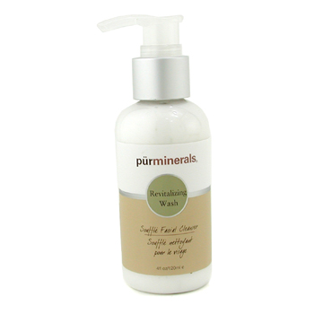 buy PurMinerals Revitalizing Wash Souffle Facial Cleanser 120ml/4oz skin care shop