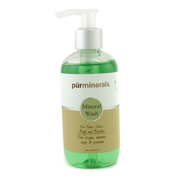 buy PurMinerals Mineral Wash For Face  Hair  Body & Brushes 240ml/8oz skin care shop