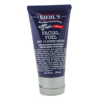 Para a pele do homem, Kiehl's, Kiehl's Hidratante Facial Fuel SPF 15 Sunscreen Energizing Moisture Treatment 75ml/2.5oz