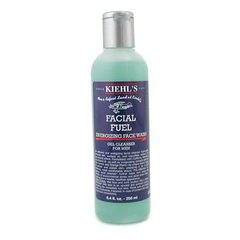 Para a pele do homem, Kiehl's, Kiehl's Gel tonico de limpeza Facial Fuel Energizing Face Wash  250ml/8.4oz