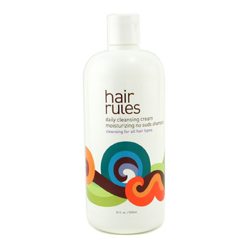 Hair Rules Daily Cleansing Cream Moisturizing No Suds Shampoo (For All Hair Types) 500ml/16oz