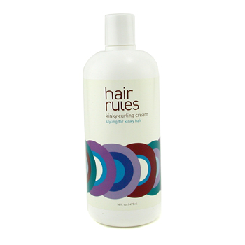 Hair Rules Kinky Curling Cream (For Kinky Hair) 470ml/16oz