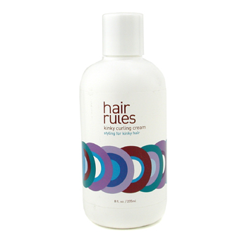 Hair Rules Kinky Curling Cream (For Kinky Hair) 235ml/8oz