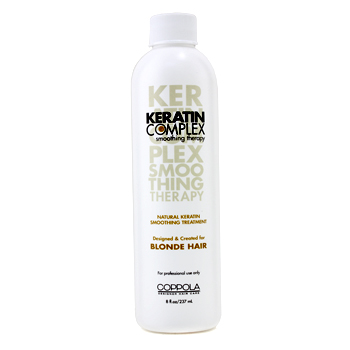 buy Keratin Complex Natural Keratin Smoothing Treatment  (For Blonde Hair) 237ml/8oz by Keratin Complex skin care shop