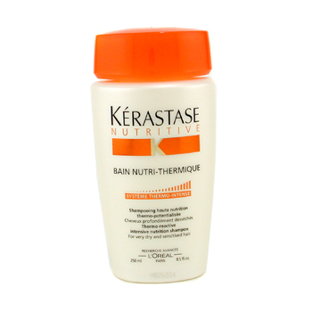 Cuidados com o cabelo, Kerastase, Kerastase Nutritive Bain Nutri-Thermique Thermo-Reactive Intensive Nutrition Shampoo (For Very Dry and Sensitised Hair) 250ml/8.5oz
