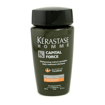 buy Kerastase Homme Capital Force Daily Treatment Shampoo (Densifying Effect) 250ml/8.5oz by Kerastase skin care shop